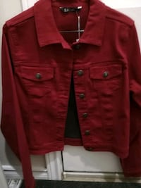 red button-up jacket Guelph, N1G 4M5