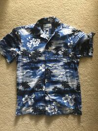 Hawaiin button up shirt