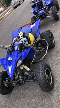 Yamaha YFZ450X. I have the transferable registration in hand as well as multiple receipts and the owners manual.