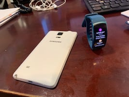 Samsung note 4 and gear S2 watch
