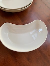 Pfaltzgraff Cappuccino - CRESCENT SHAPE SERVING BOWL - MINT! Arlington, 22201