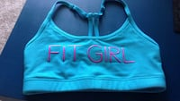 Blue and pink nike sports bra Burnaby, V5A 4H2