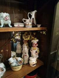 assorted floral ceramic vases and bowls lot Joplin, 64801