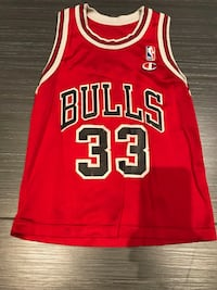 Youth Medium Red and white chicago bulls 23 jersey 544 km