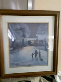 Arnold McDowell Framed and Signed  Cleveland, 37312
