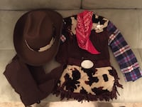 Cowgirl outfit.  Girls size small (4). Winchester, 22602