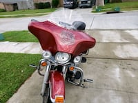 red and black touring motorcycle Gretna