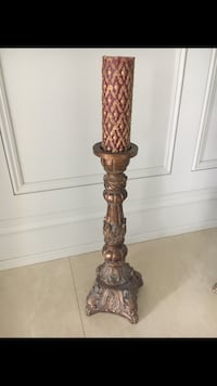 Tall candle holder - set of two  Vaughan, L4L 1S2