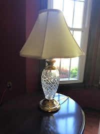 "Pair of Waterford 3-way Table Lamps 26""   $75 each"