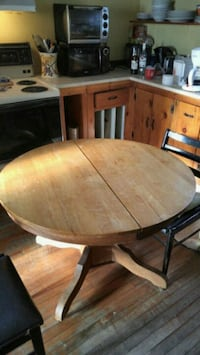 Antique table with 2 leafs Hudson, J0P