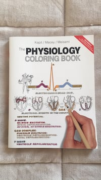 Physiology Coloring Book Chambersburg, 17202