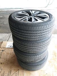 Firestone All Season Tires with Rims from Honda Civic  Brampton, L6S 3Z4