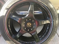 "Lorenzo 19"" rims and tires"