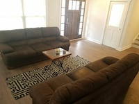 A set of well maintained sofas