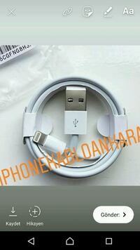 ORJINAL IPHONE CABLE ADAPTER  Keçiören