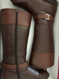 pair of brown leather boots Los Banos, 93635