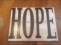 Hope Sign Griffin
