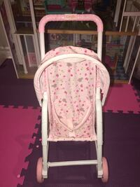 baby's white and pink bassinet Richmond Hill, L4E 3T4