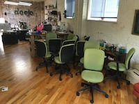 13 Steelcase office chairs in Lakeview east Chicago, 60657