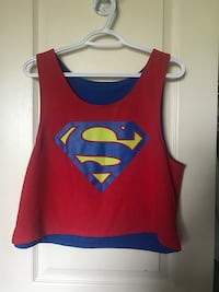 Reversible Superman Logo crop top  St Catharines, L2S 4A6