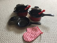 Toy cookware - 9 pieces Mississauga, L5N