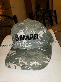 white and black camouflage fitted cap Surrey, V3X 1P3