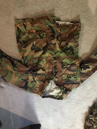 BDU's camouflage camo all different sizes Easton, 18045