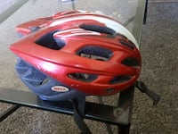 red and black full-face helmet Reno, 89502