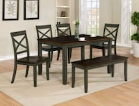 NEW Dining Table Set 5 Pieces $390, amazing qualit Cypress