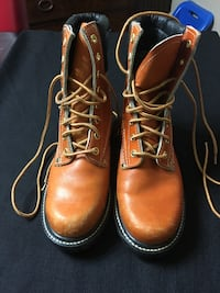 brown leather work boots Hot Springs, 71901