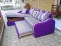 purple and white fabric sofa set Mumbai, 400102