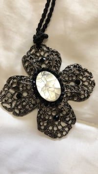 Cross with mother of pearl necklace Anchorage, 99577
