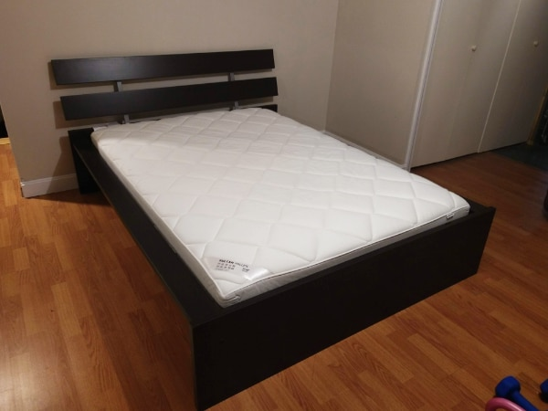Used Ikea Hopen Queen Bed Frame