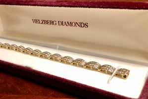 Gold & Diamond bracelet Helzberg Diamonds