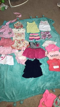 3-6 month baby clothing mix LOT17 273 mi