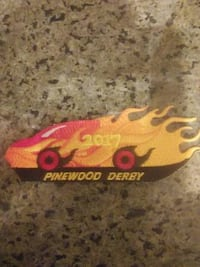 Cub Scout Pinewood Derby 2017 patches MARTINSBURG