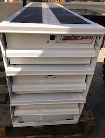 Weather Guard 12.25 in. Aluminum Stacked Itemizer Van Drawer Unit