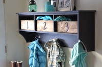 Entry way storage with cubbies and hooks Herndon, 20170