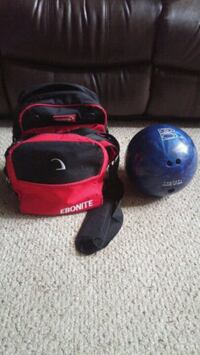 10lb bowling ball w/ bag Barrie, L4N 6C4