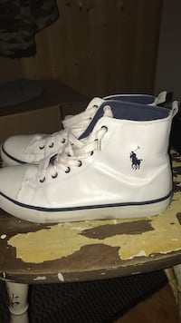 Polo ralph lauren leather high shoes, str40/size 7 Fonnes, 5953