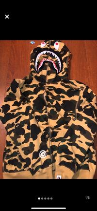 AUTHENTIC BAPE HOODIE. BATHING APE.  Brampton, L6R 0N2