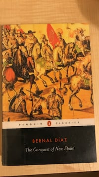 Penguin classics the conquest of new spain by bernal diaz book