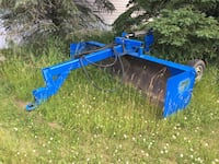 Blue and black plow blade Morinville