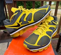 MENS NIKE AIR MAX 2012 CHROME YELLOW SIZE 11 SHOES Lewis Center, 43035