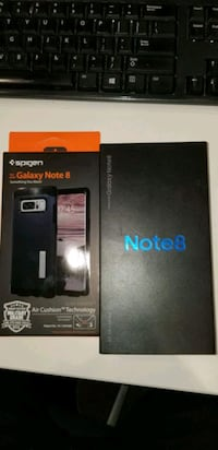 Samsung Galaxy Note 8, Brand new, sealed box with case,unlocked