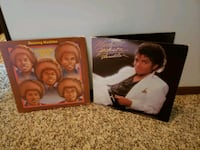Michael Jackson,s Thriller and The Jackson 5ive, Dancing machine Album Scranton