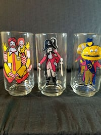 Vintage collection Mc Donalds glasses  Riverside, 92504