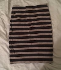 gray and black striped skirt Gainesville, 32608