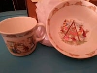 Peter Rabbit Collectors Addition Cup & Bowl Chatham-Kent