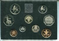 Lot of 12 Royal Mint UK Proof Coin Collection  Set & COA Haverhill